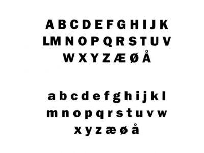 Standard skrift
